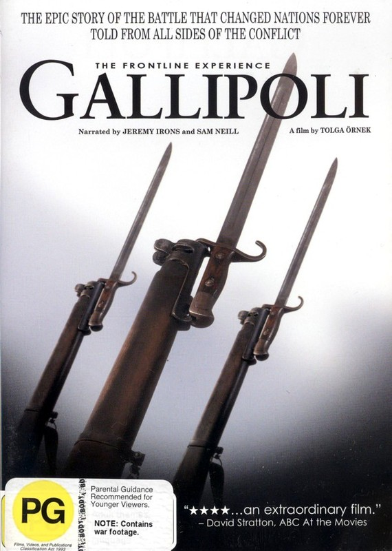 The Gallipoli: Front Line Experience on DVD