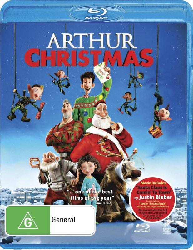 Arthur Christmas on Blu-ray