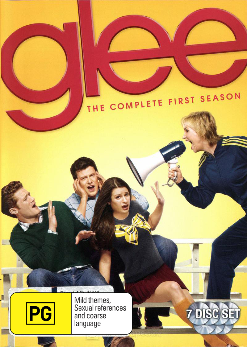 Glee - The Complete First Season on DVD image