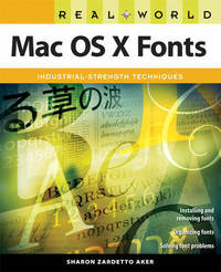 Real World MAC OS X Fonts by Sharon Aker image