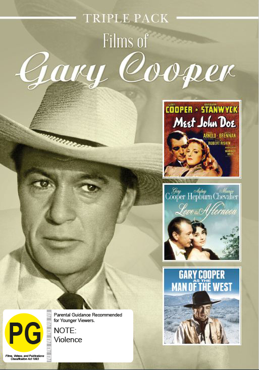 Gary Cooper - Triple Pack on DVD image