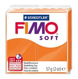 Staedtler Fimo Soft Modelling Clay Block - Tangerine (56g)