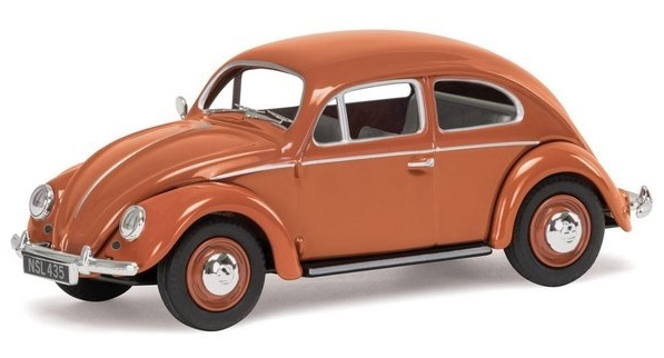 Corgi: 1/43 VW Beetle Coral - Diecast Model