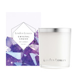 Linden Leaves Crystal Crush Soy Candle - Amethyst (300g)