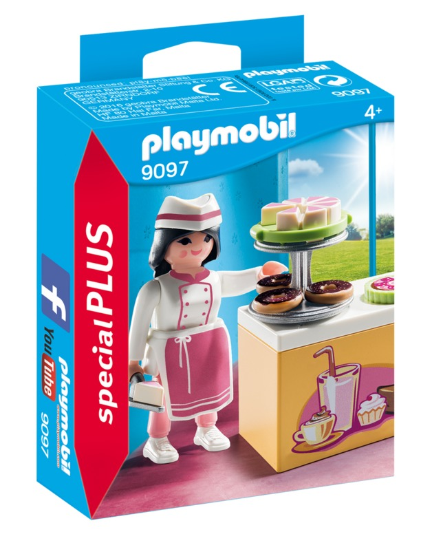 Playmobil: Special Plus - Pastry Chef (9097)
