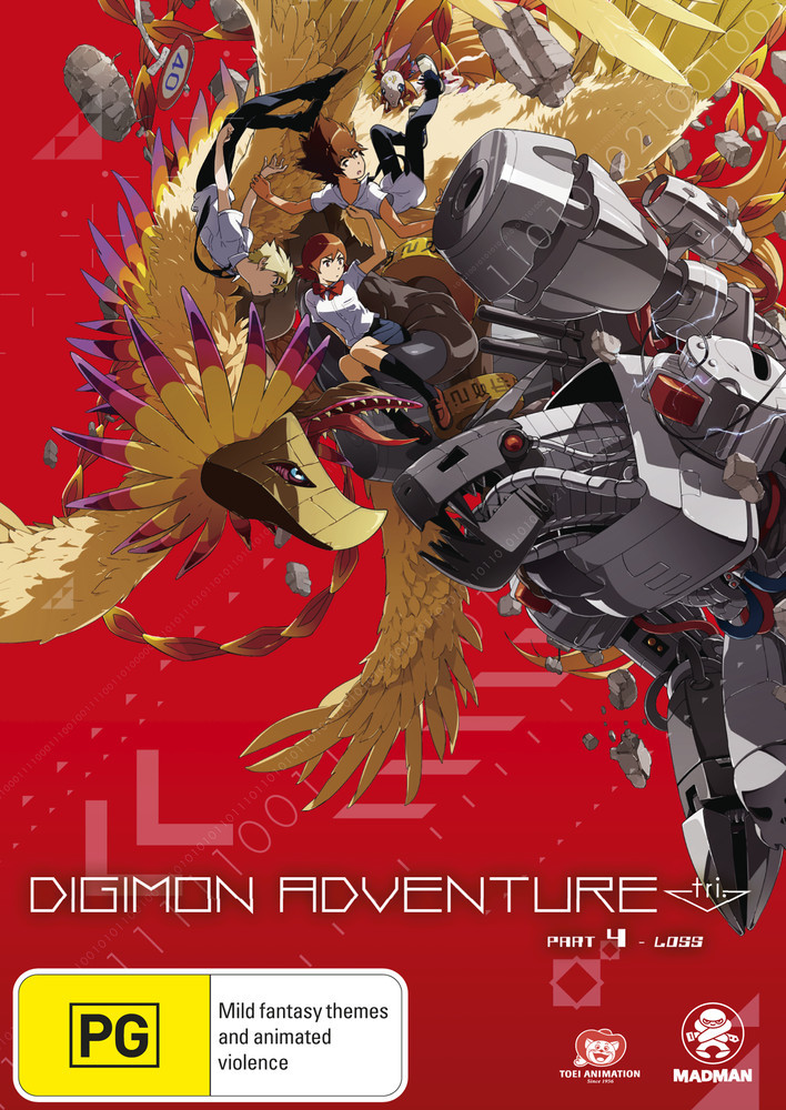 Digimon Adventure Tri. Part 4 - Loss on DVD image