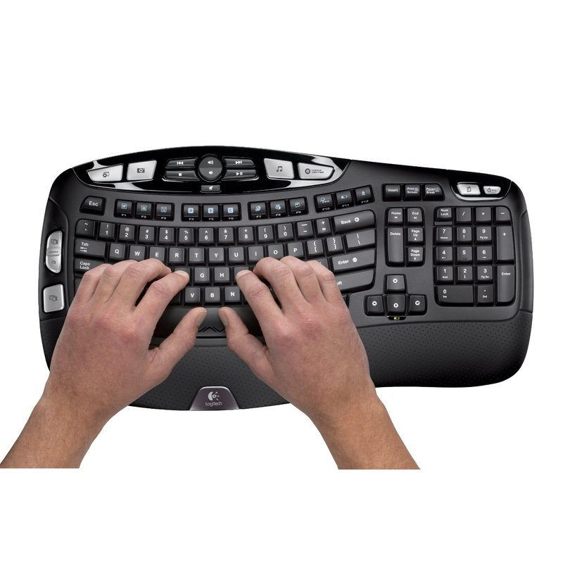 Logitech MK550 Wireless Wave Desktop Keyboard & Mouse Kit image