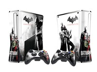 Dual Coloured Slim Console Skin Sticker (Batman Arkham City) for X360