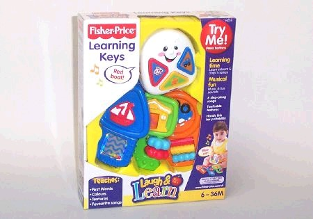 Fisher Price Laugh & Learn Learning Keys