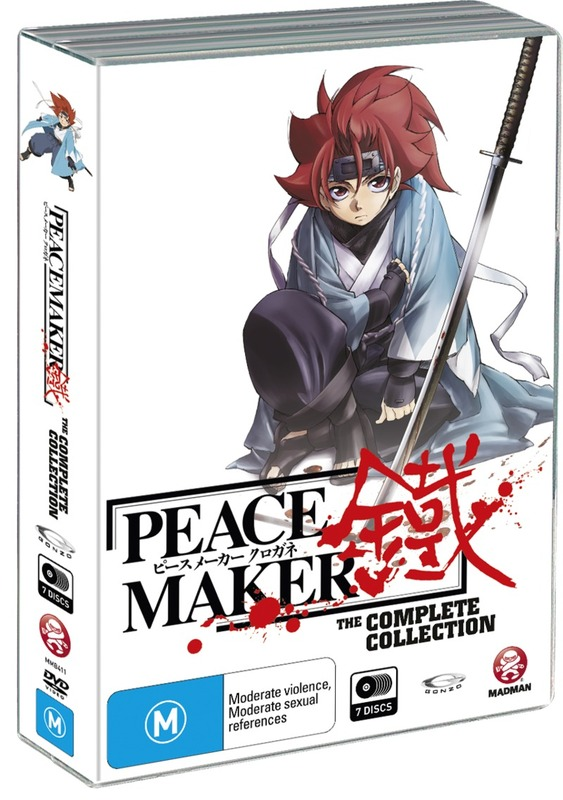 Peacemaker - Complete Collection (7 Disc Box Set) on DVD