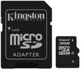32GB Kingston - MicroSDHC Card with SD Adapter (Class 4)