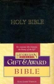 KJV Gift & Award Bible, Imitation leather, Black
