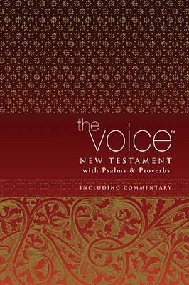The Voice of New Testament, with Psalms and Proverbs by Thomas Nelson Publishers image