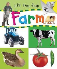 Farm Lift a Flap by Hinkler Books