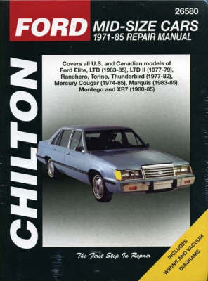 Ford Mid-Size Cars (71 - 85) by Chilton Automotive Books