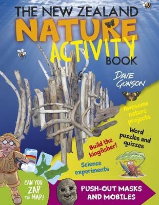 New Zealand Nature Activity Book by Dave Gunson image