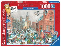 Ravensburger : Amsterdam in winter Puzzle (1000 Pcs)