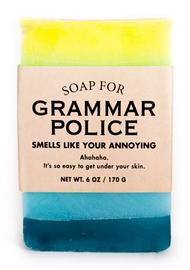 Whiskey River Co: Soap - For Grammar Police