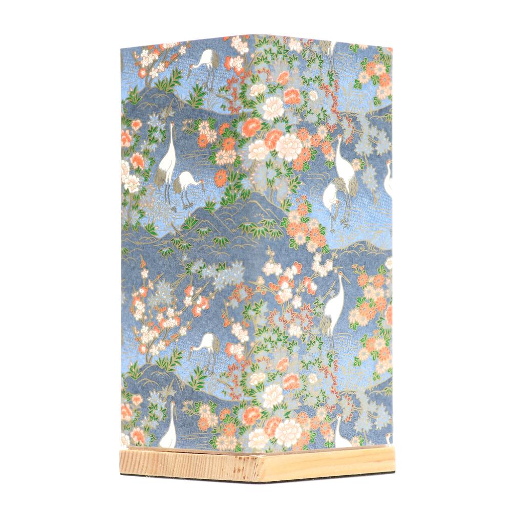 Kami Lamp Crane Garden (Blue) image