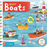 Busy Boats by Campbell Books