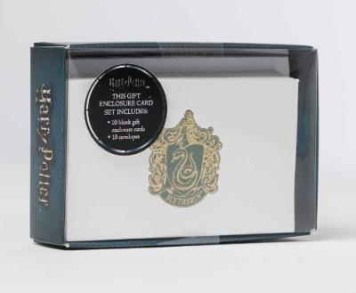 Harry Potter - Foil Gift Cards - Slytherin (10 Pack)