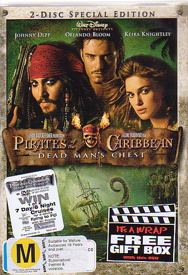 Pirates Of The Caribbean - Dead Man's Chest (2 Discs) on DVD