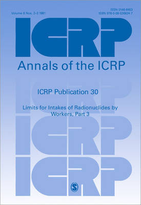ICRP Publication 30 by ICRP