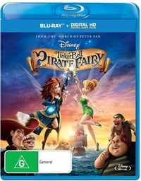 Tinker Bell and the Pirate Fairy on Blu-ray