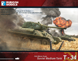 Rubicon 1/56 T34/76 Early & Mid War
