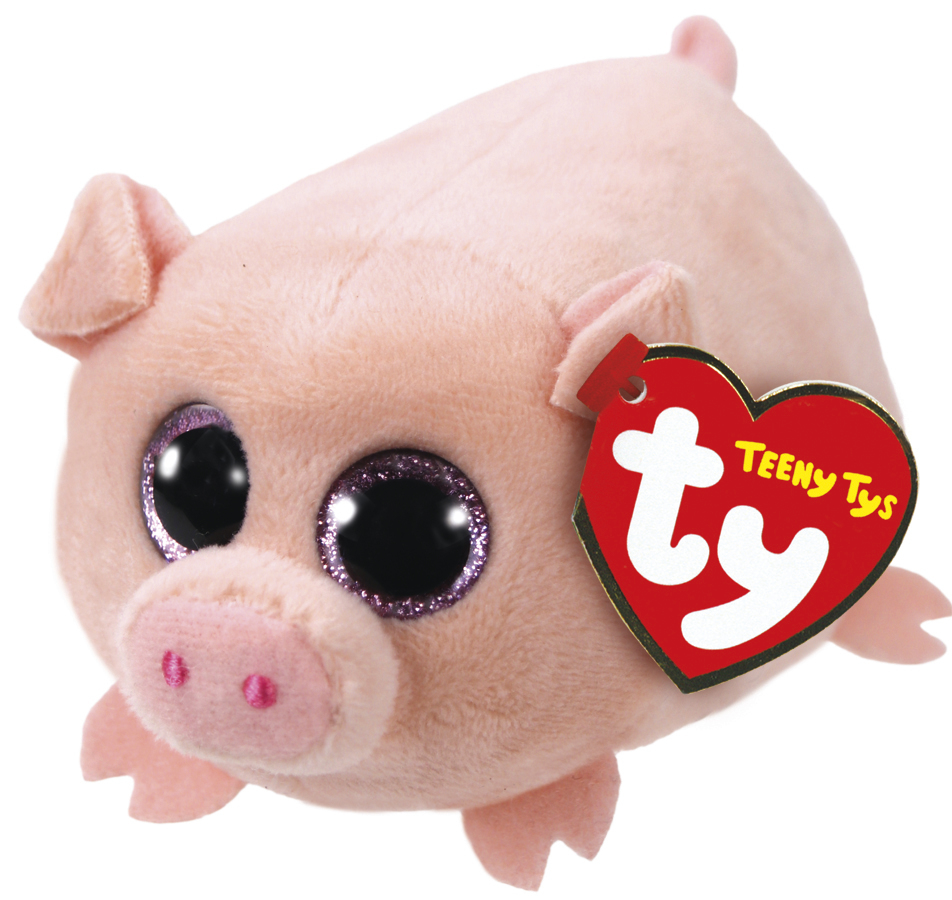 Ty: Teeny Curly Pig - Small Plush image