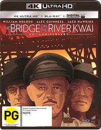 The Bridge on the River Kwai on Blu-ray, UHD Blu-ray, UV