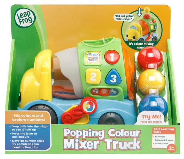 Leapfrog: Poppin Colour - Mixer Truck