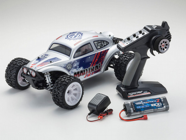 Kyosho Mad Bug Vei RS 1/10 EP 4WD RC Buggy RTR Set image