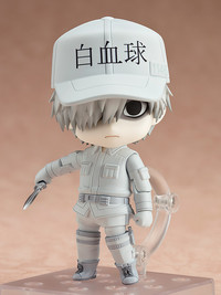 Cells at Work: Nendoroid White blood cell(Neutrophil) - Articulated Figure