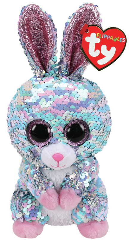 TY Flippable: Raindrop Bunny - Small Beanie Boo Plush
