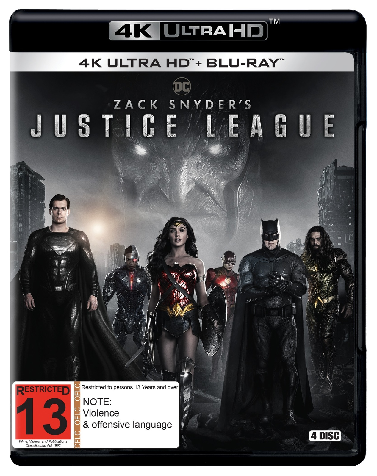 Zack Snyder's Justice League (4K UHD + Blu-Ray) image
