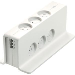 Belkin Compact Surge Protector (2m Cord) + TEL