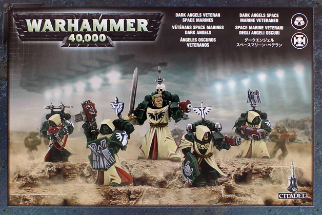 Warhammer 40,000 Dark Angels Veterans Squad