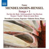 Songs, Vol. 1 by Fanny Mendelssohn-Hensel