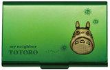 Studio Ghibli Works: My Neighbor Totoro Metal Card Case - Green