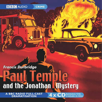Paul Temple and the Jonathan Mystery by Francis Durbridge image