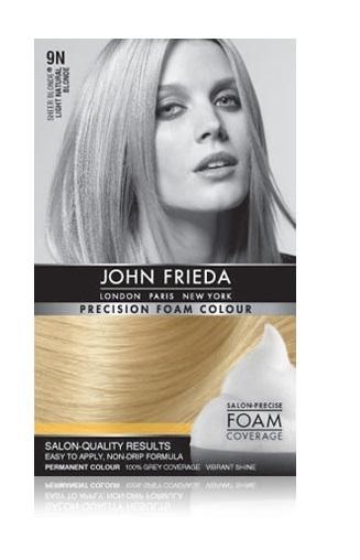 John Frieda Precision Foam Colour - 9N (Light Natural Blonde) image