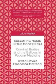Executing Magic in the Modern Era by Owen Davies image