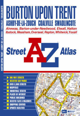 Burton Upon Trent Street Atlas by Geographers A-Z Map Company