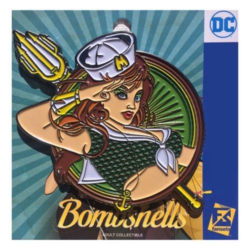 DC Bombshells - Mera Badge Pin image