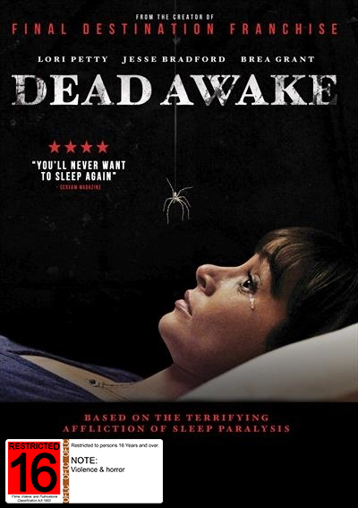 Dead Awake on DVD image