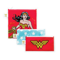 Bumkins 3pk Snack Bag Combo - Wonder Woman