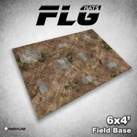 FLG Field Base Neoprene Gaming Mat (6x4)