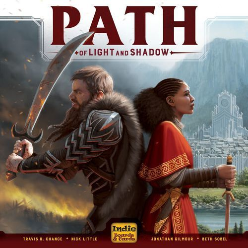 Path of Light and Shadow - Board Game