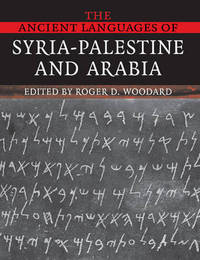 The Ancient Languages of Syria-Palestine and Arabia image